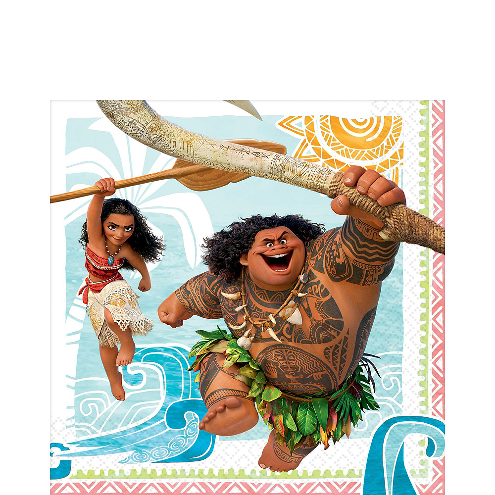 Moana Tableware Ultimate Kit for 16 Guests Image #5