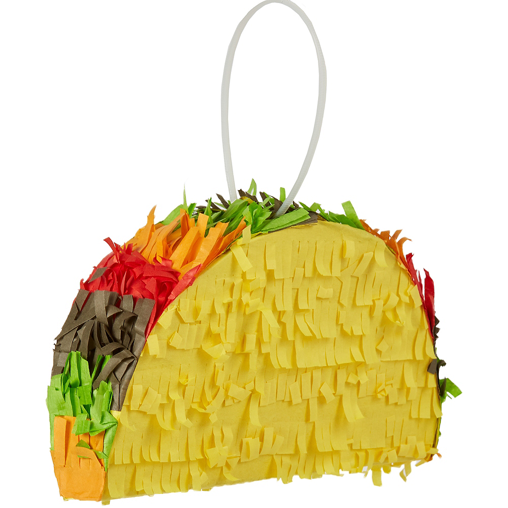Mini Taco Pinata Decoration Image #1
