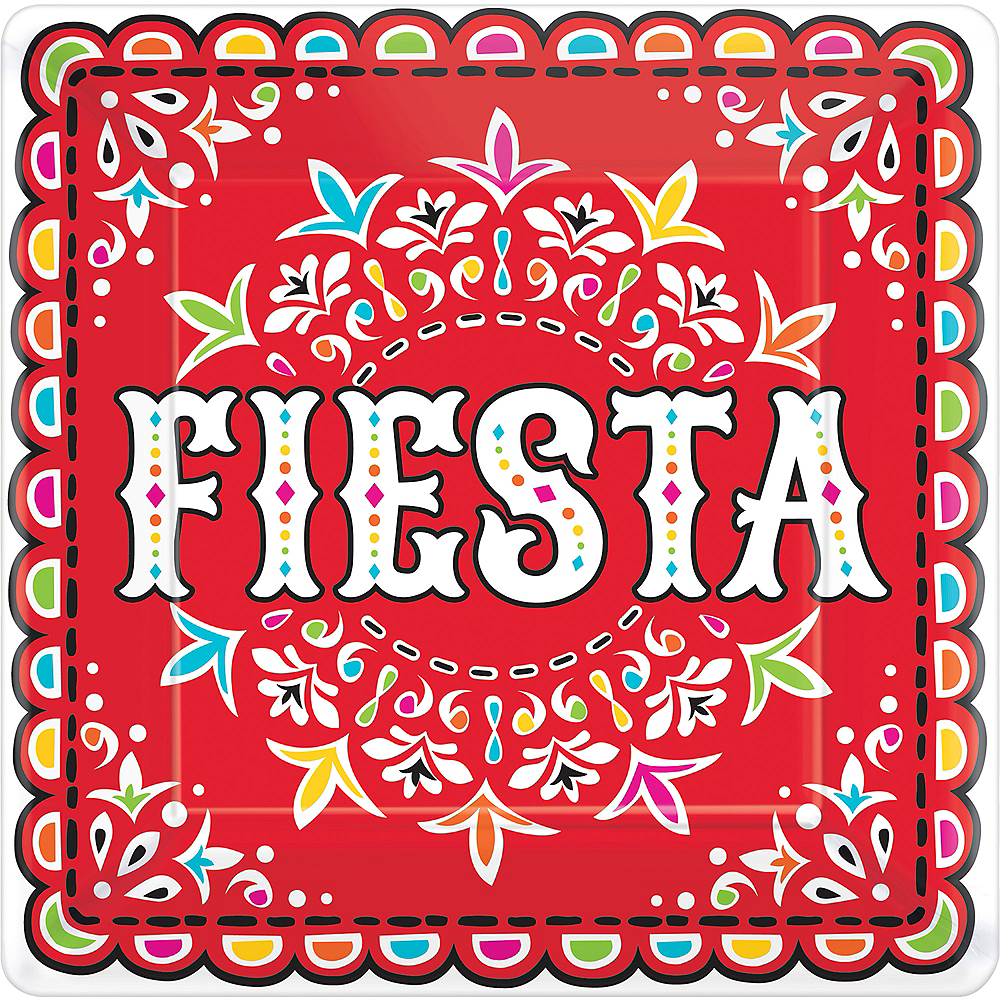 Fiesta Dinner Plates 18ct Image #1