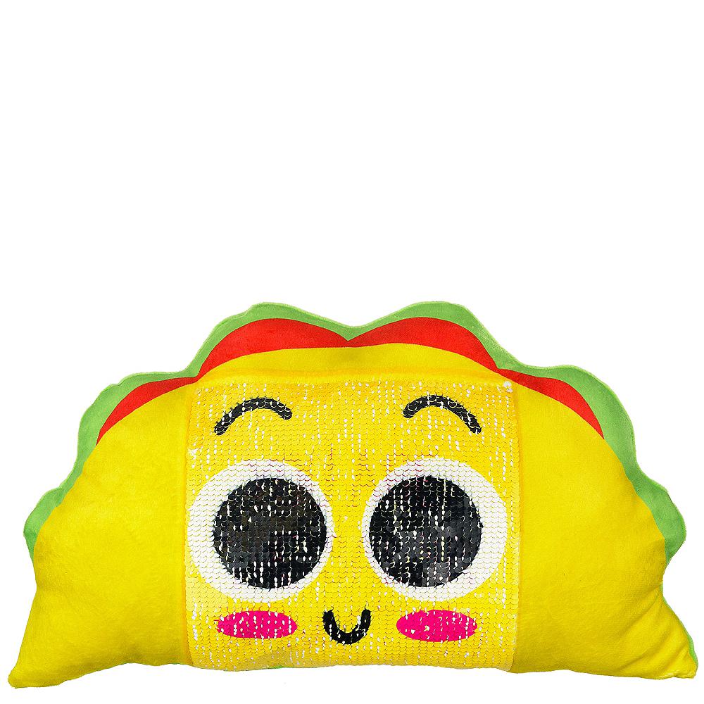 Sequin Taco Plush