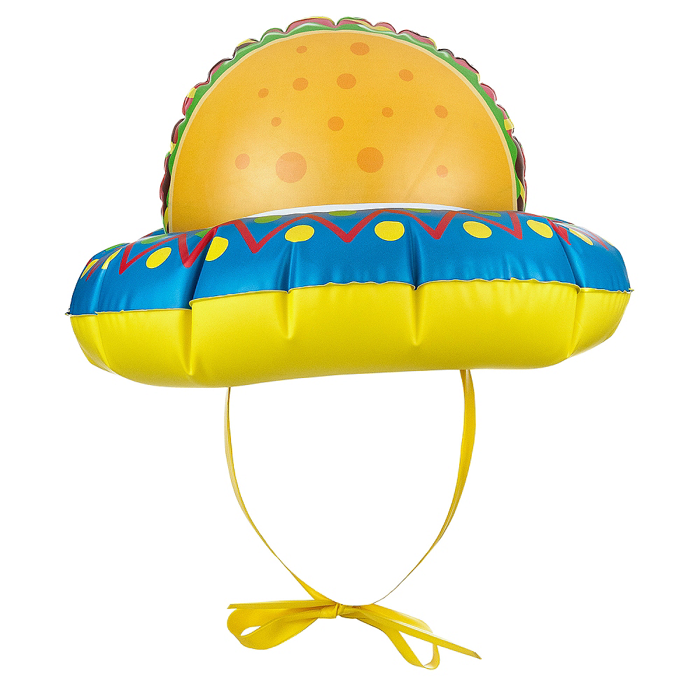Inflatable Taco Hat Image #2