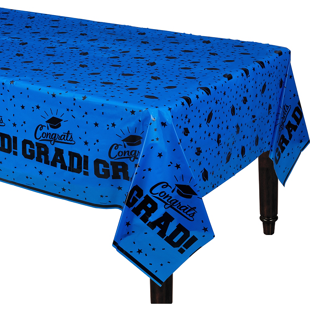 Nav Item for Blue Congrats Grad Table Cover Image #1