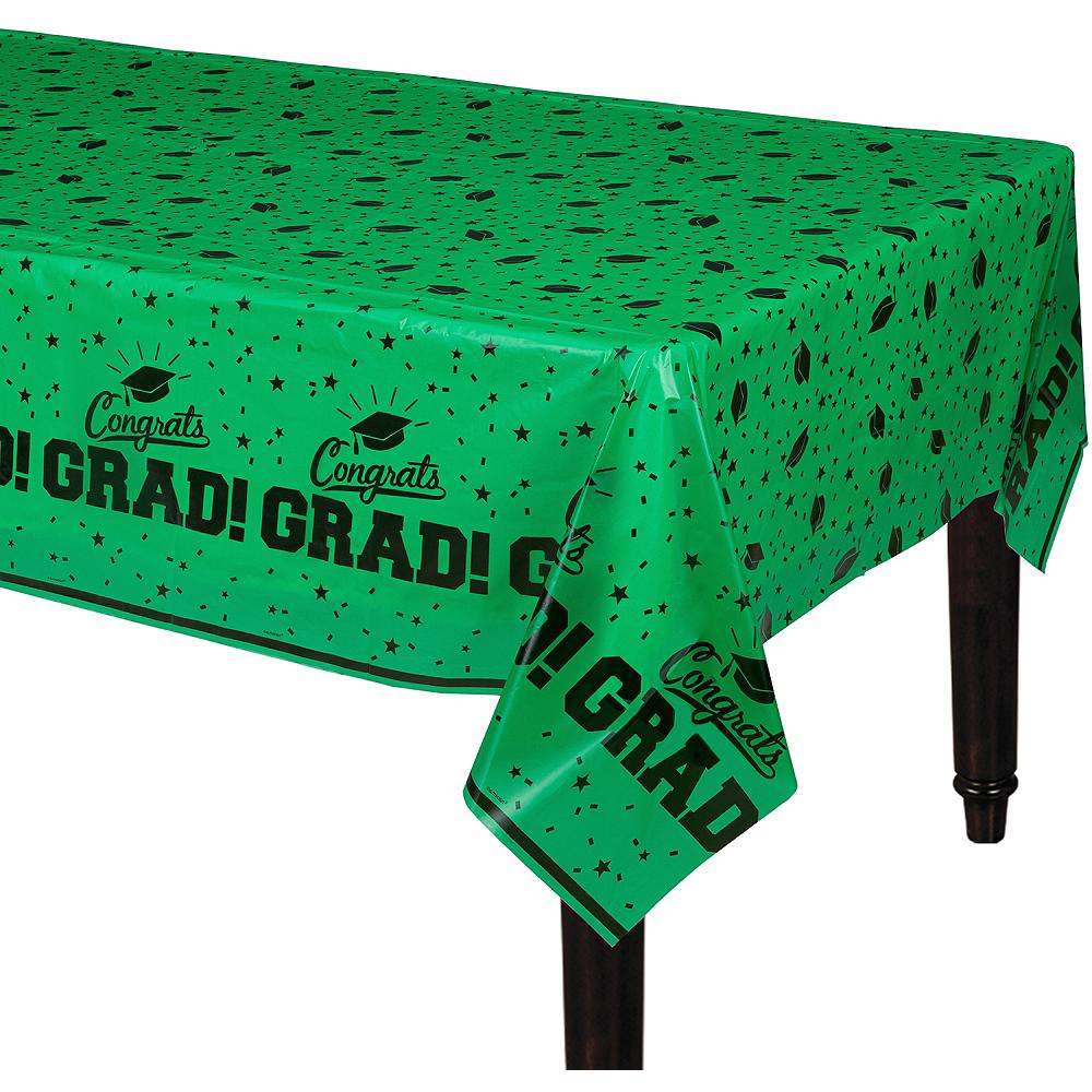 Green Congrats Grad Table Cover Image #1