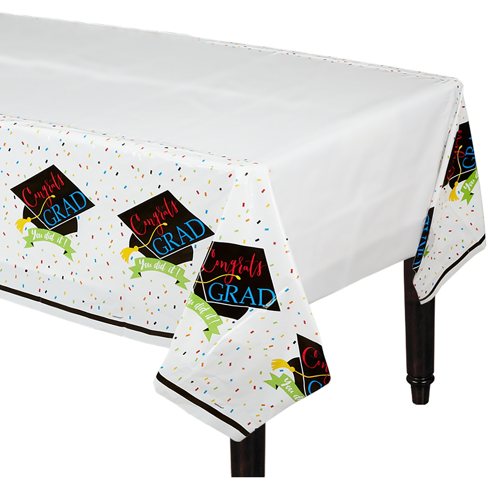 You Did It Grad Table Covers 3ct Image #1