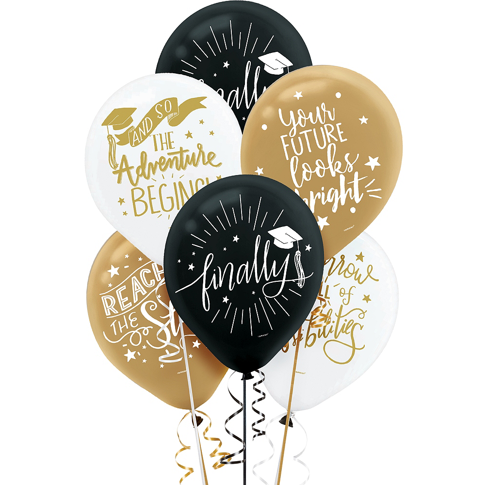 The Adventure Begins Balloons 15ct Image #1