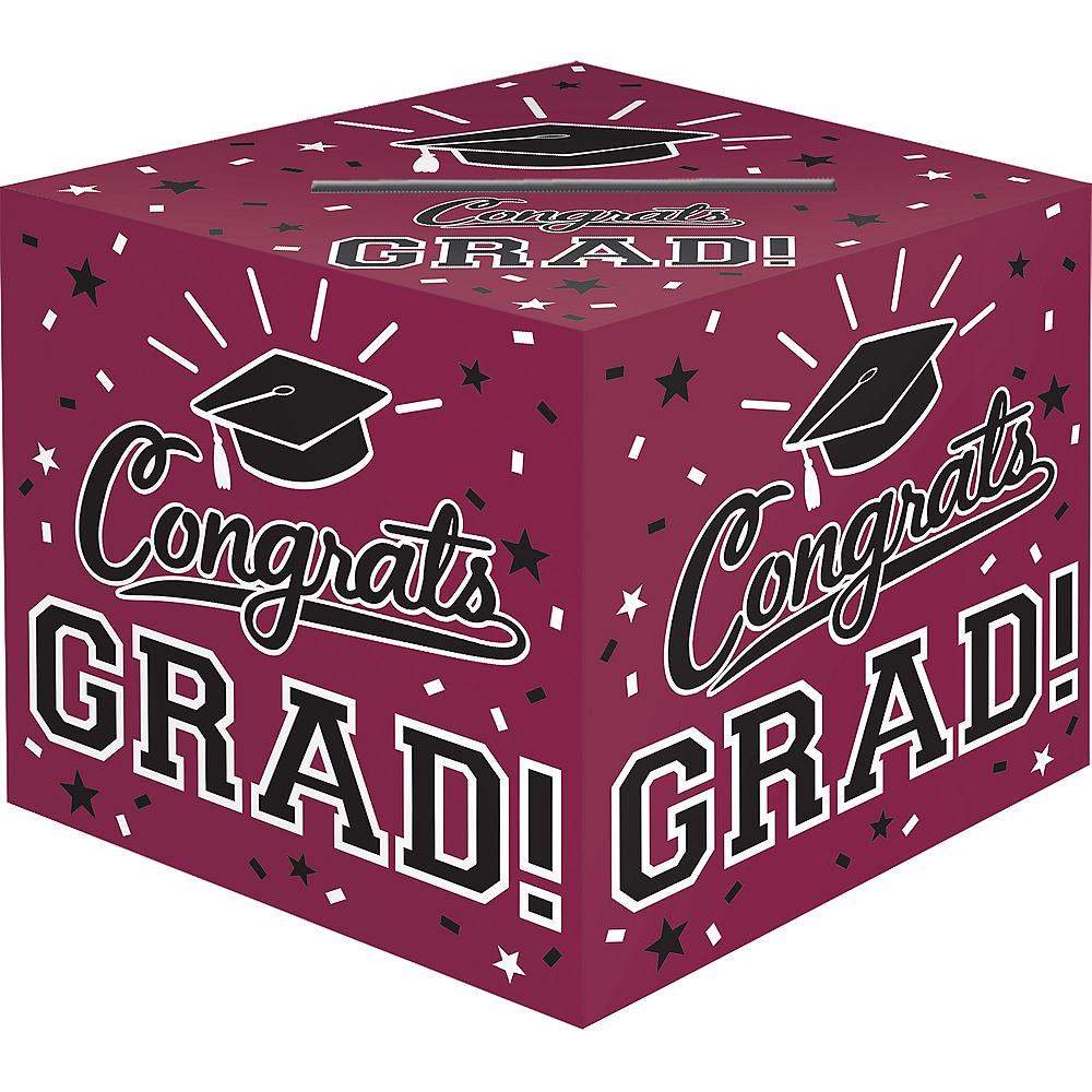 Berry Congrats Grad Card Holder Box Image #1
