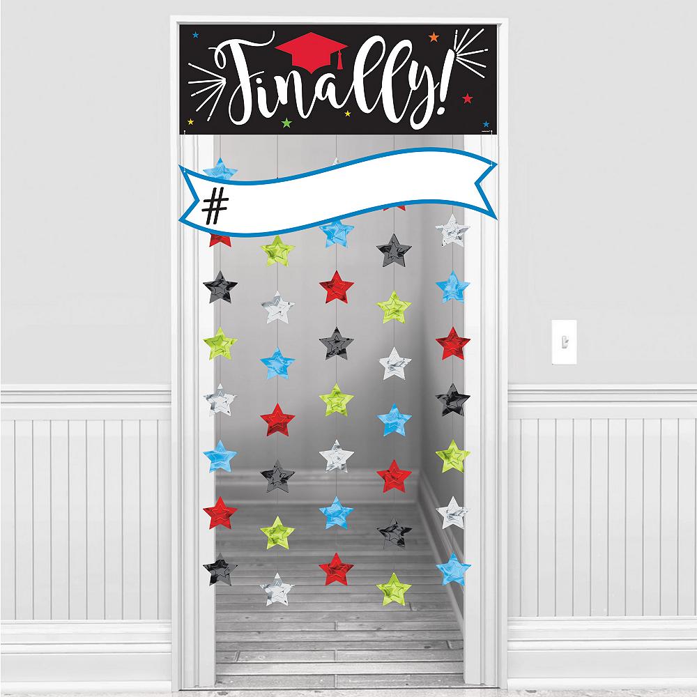 Finally Graduation Doorway Curtain Image #1