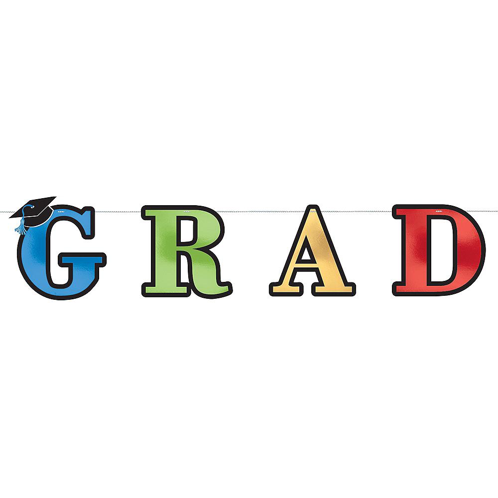Metallic Grad Letter Banner Image #1