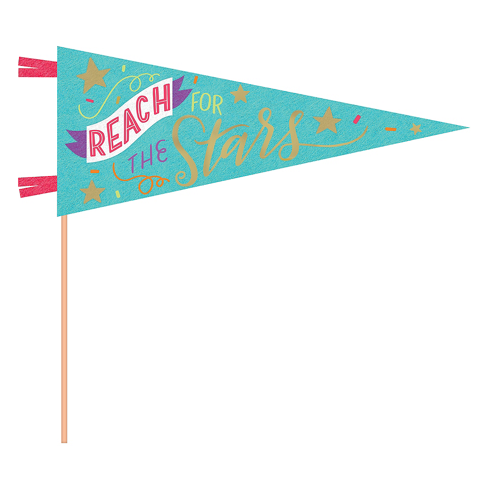 Reach For The Stars Pennant Flag Image #1