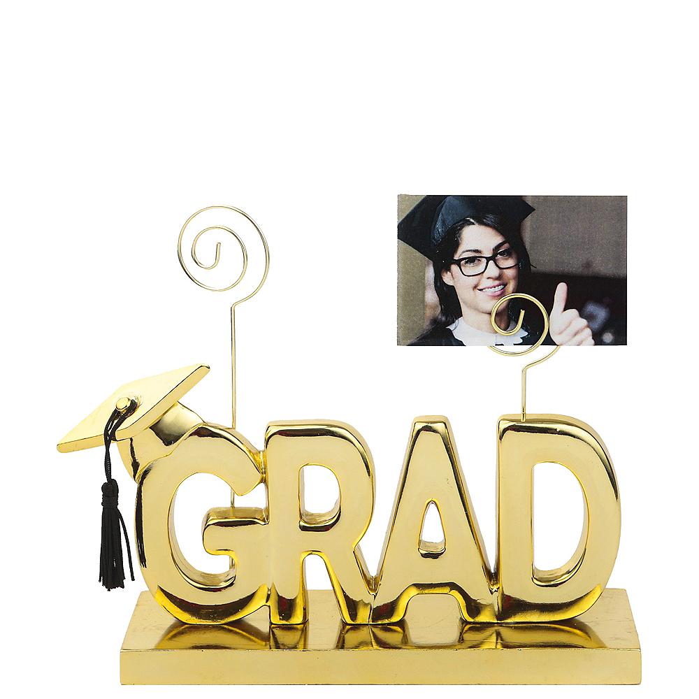 Metallic Gold Grad Photo Holder Image #1