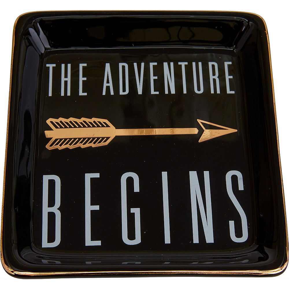 The Adventure Begins Trinket Dish Image #1