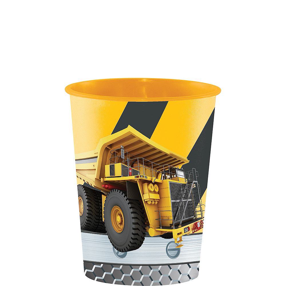 Construction Zone Favor Cup Image #1