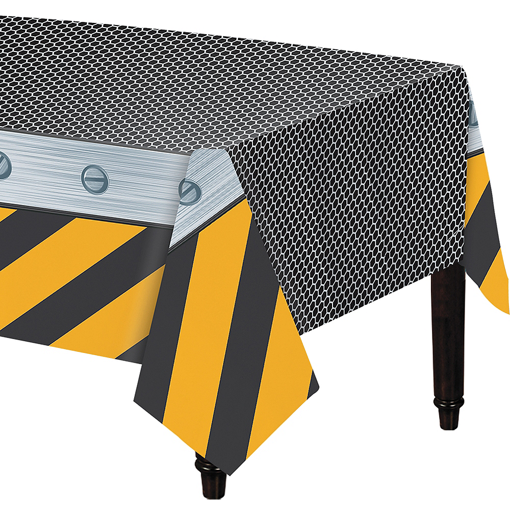 Construction Zone Table Cover Image #1
