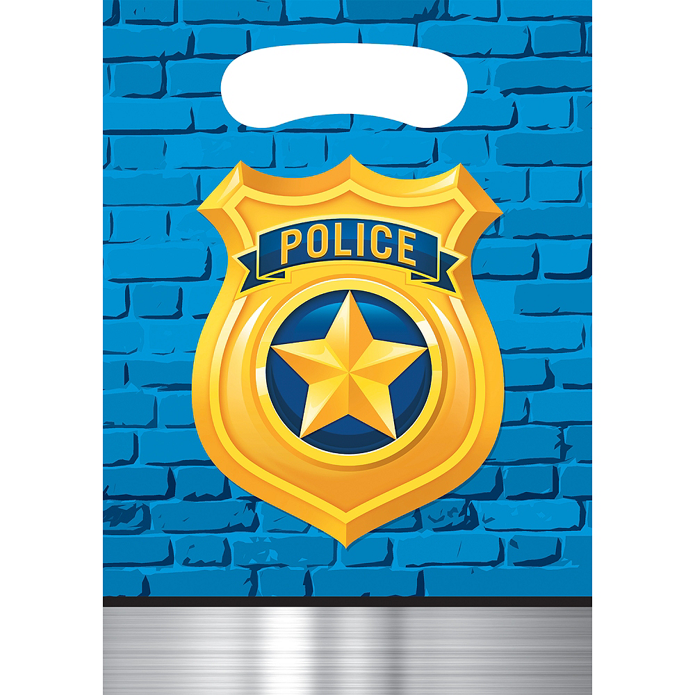 Nav Item for Police Favor Bags 8ct Image #1
