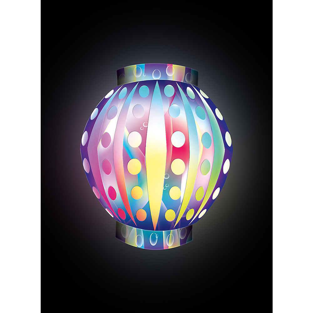 Illooms Light-Up Color-Changing LED Balloon Lantern, 9in Image #3