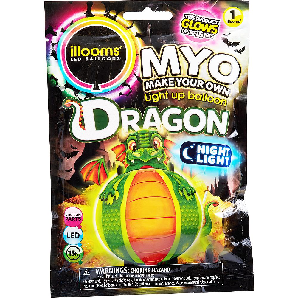 Illooms Light-Up Dragon LED Balloon Lantern Image #1