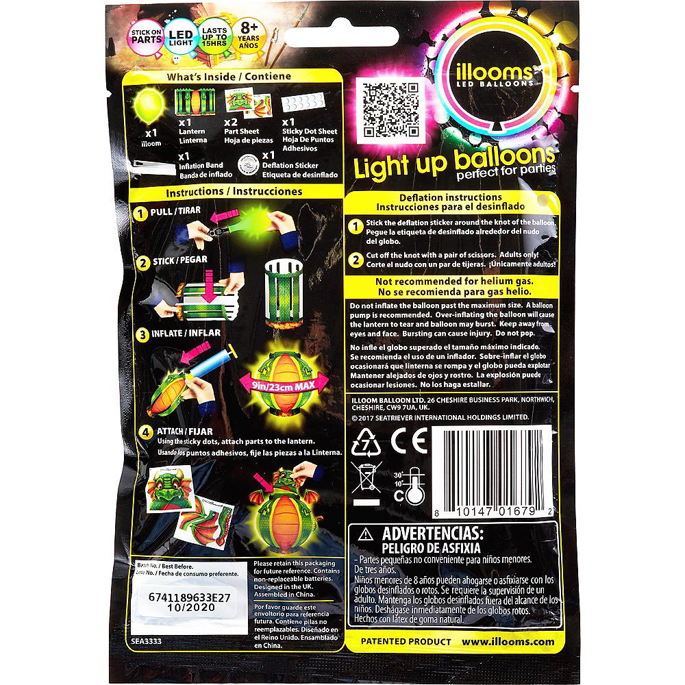 Illooms Light-Up Dragon LED Balloon Lantern Image #2
