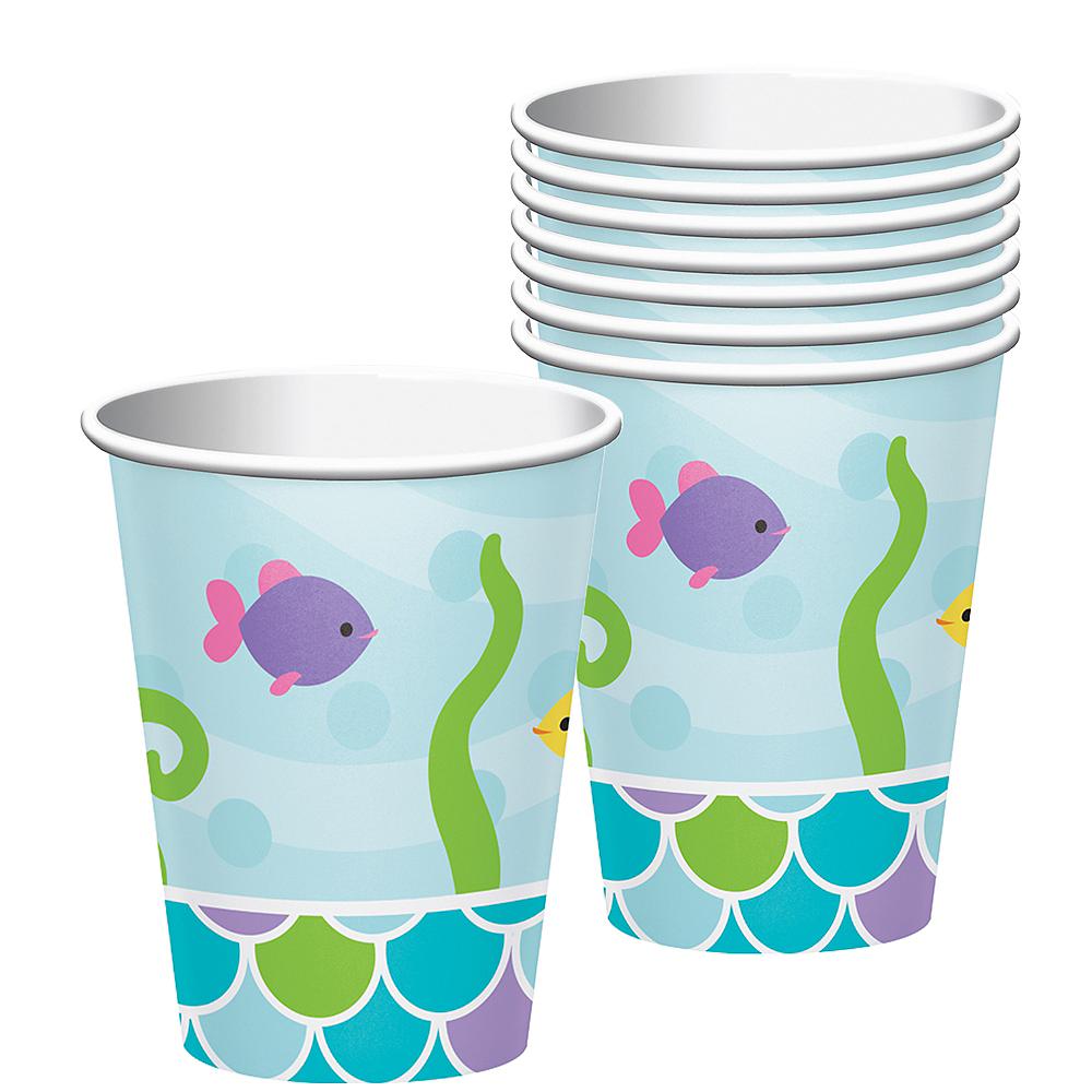 Friendly Mermaid Cups 8ct Image #1