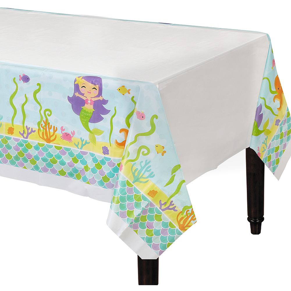 Friendly Mermaid Table Cover Image #1