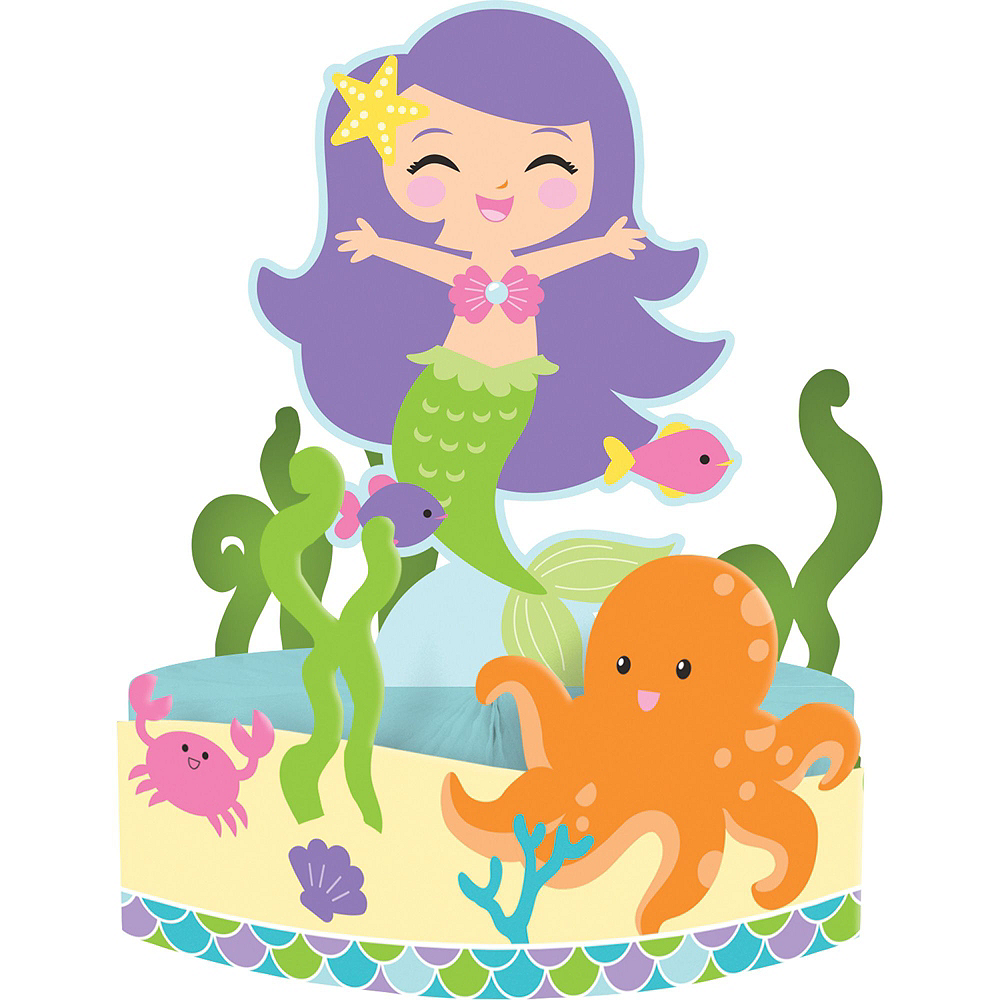 Mermaid Tableware Kit for 16 Guests Image #10