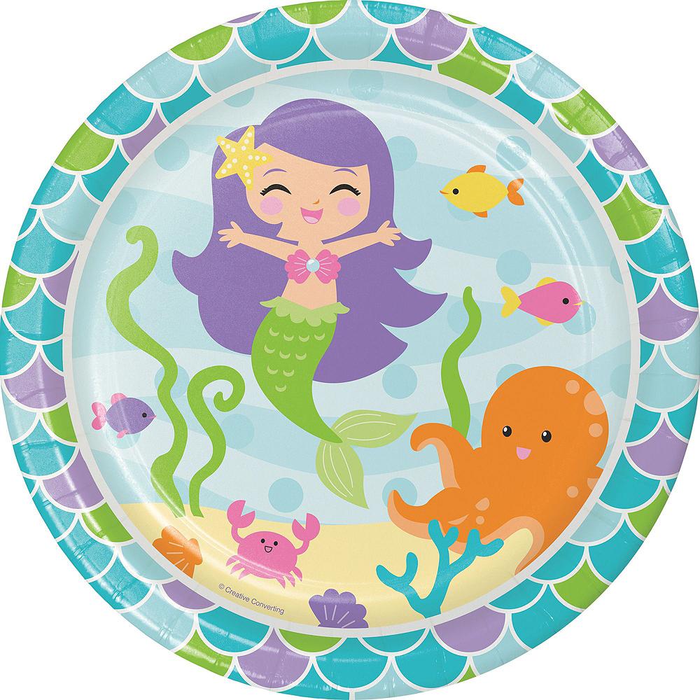 Mermaid Tableware Kit for 32 Guests Image #9