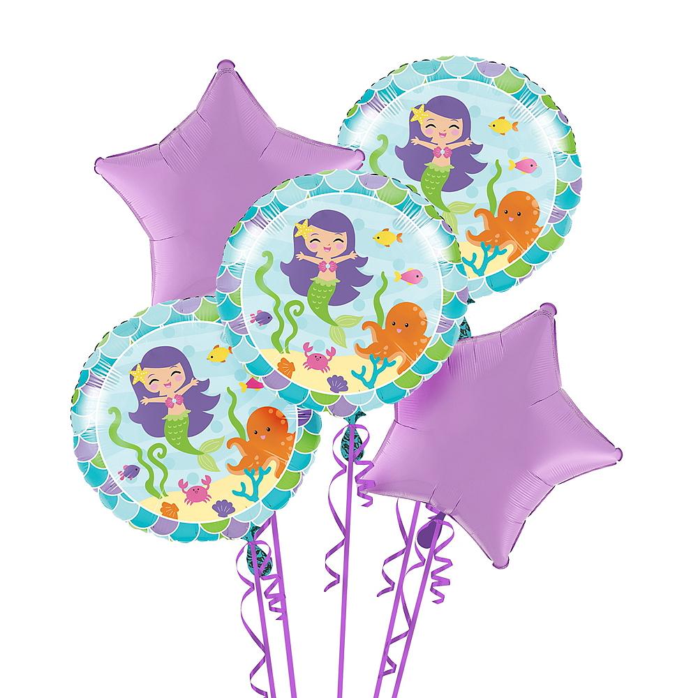 Mermaid Balloon Bouquet Image 1