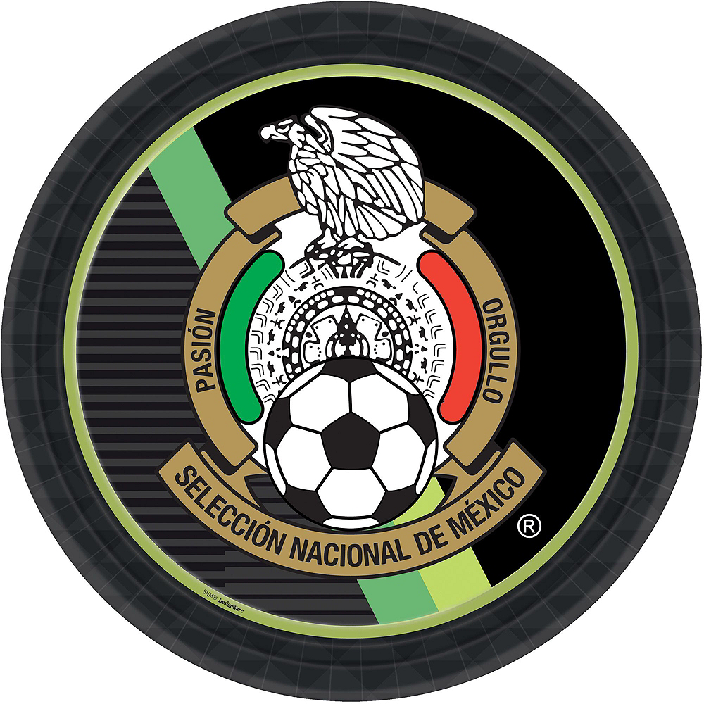 Mexico National Team Basic Party Kit for 16 Guests Image #4