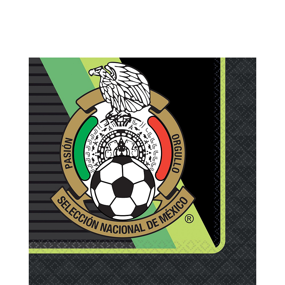 Mexico National Team Basic Party Kit for 16 Guests Image #5
