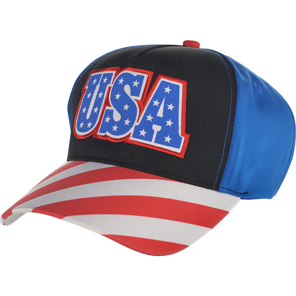 Patriotic USA Baseball Hat Image #1