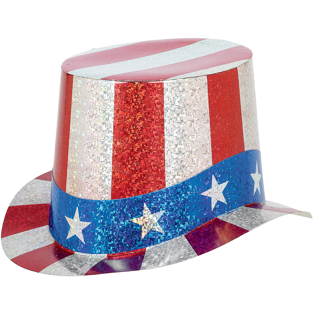 Prismatic Uncle Sam Hat Image #1
