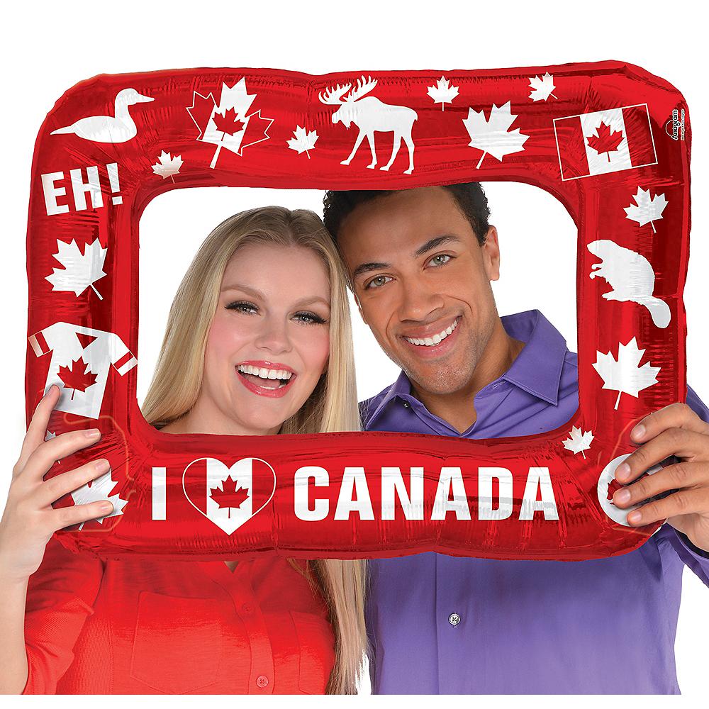 Inflatable I Heart Canada Photo Frame Balloon Image #1