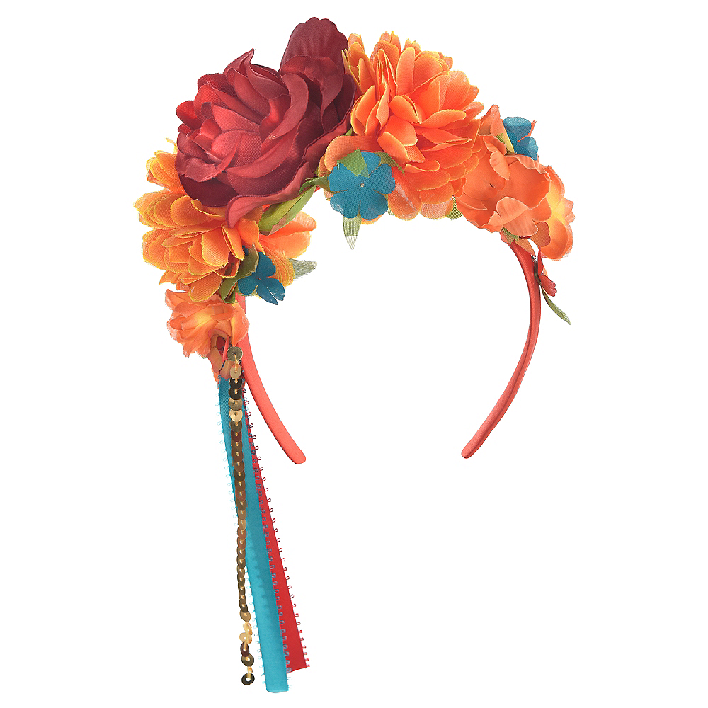 Elena of Avalor Flower Headband 11in x 2in  63d34d2eba4