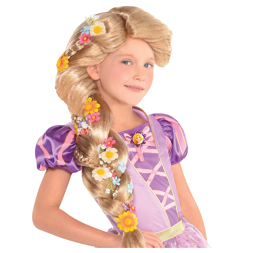 child rapunzel wig tangled party city