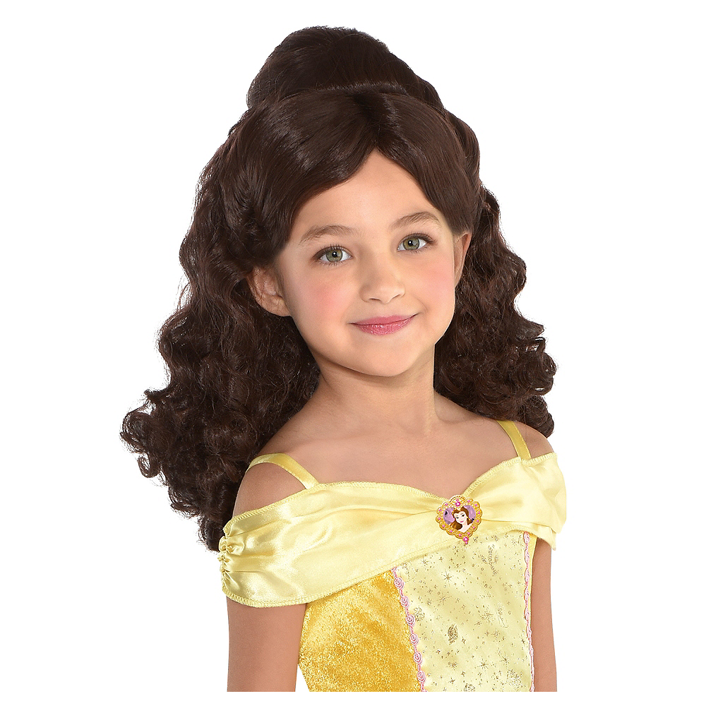Child Belle Wig Beauty And The Beast