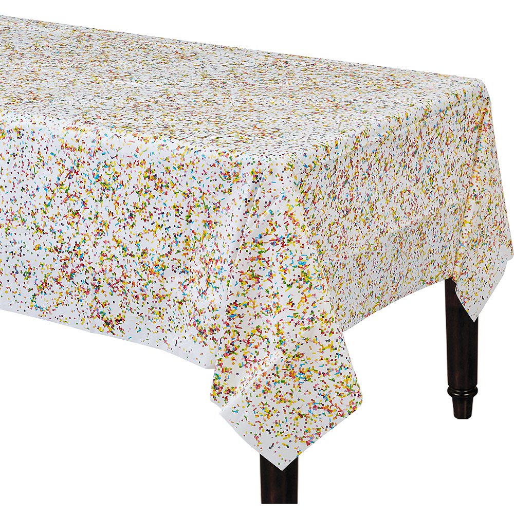 Rainbow Sprinkles Table Cover Image #1