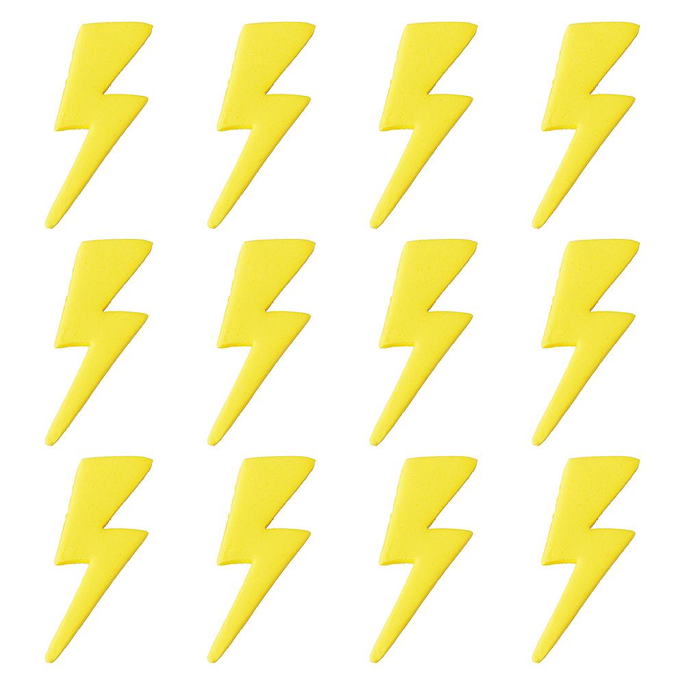 Wilton Rosanna Pansino Lightning Bolt Icing Decorations 12ct | Party ...