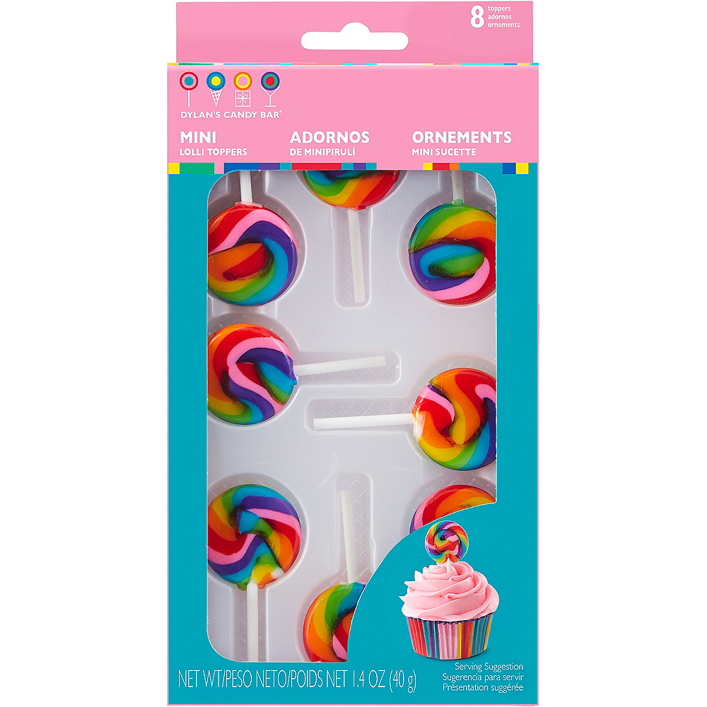 Click To Favorite Wilton Dylan S Candy Bar Mini Lollipops Icing Decorations 12ct