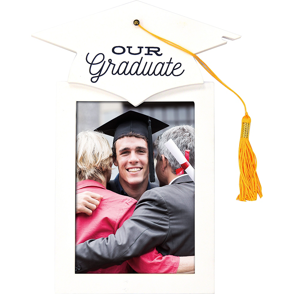 Our Graduate Photo Frame with Tassel Image #1