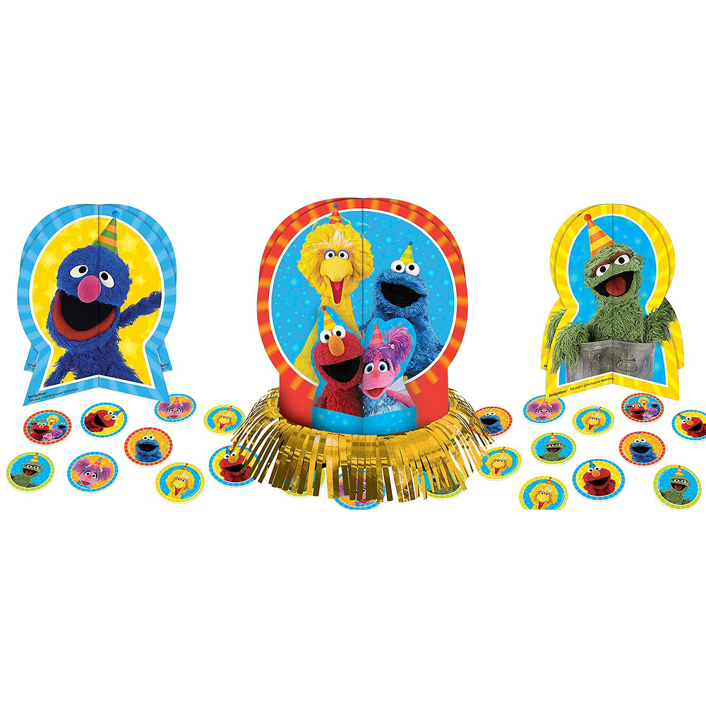 Sesame Street Tableware Party Kit for 16 Guests Image #9