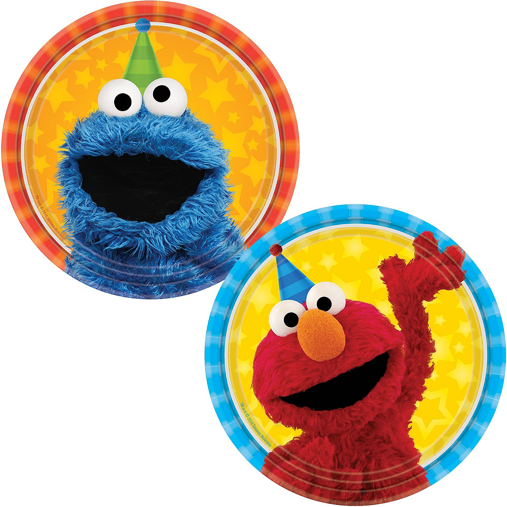 Sesame Street Tableware Party Kit for 24 Guests Image #2