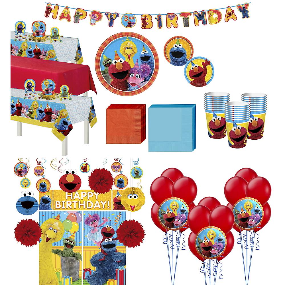 Sesame Street Tableware Ultimate Kit for 24 Guests Image #1