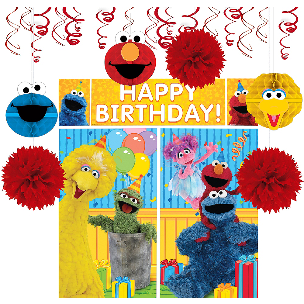Nav Item For Sesame Street Decoration Kit Image 1