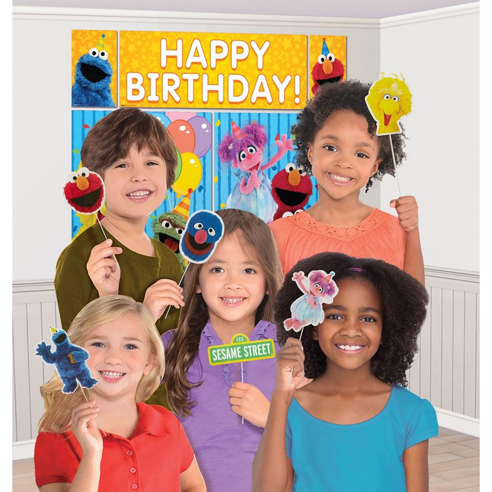 Sesame Street Decoration Kit Image #3
