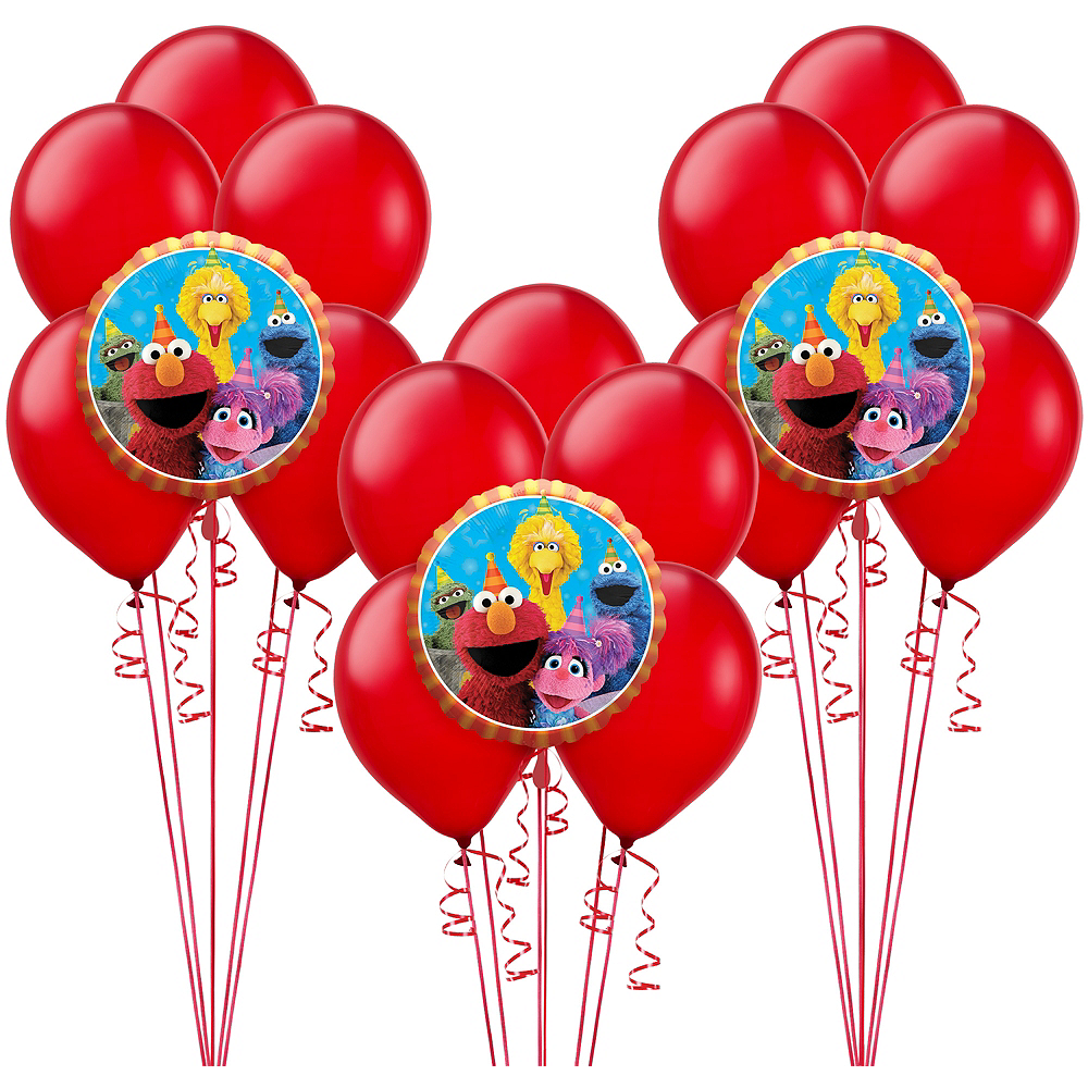 Sesame Street Balloon Kit Image #1
