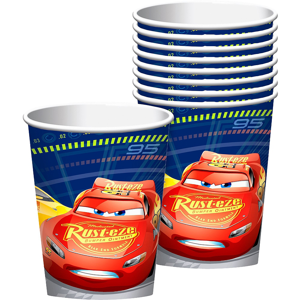 Cars 3 Tableware Party Kit for 24 Guests Image #6