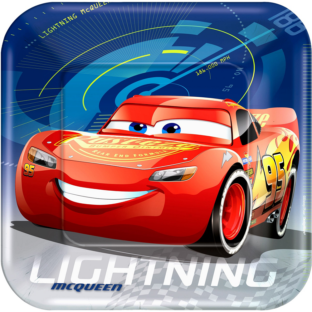 Cars 3 Tableware Ultimate Kit for 16 Guests Image #3