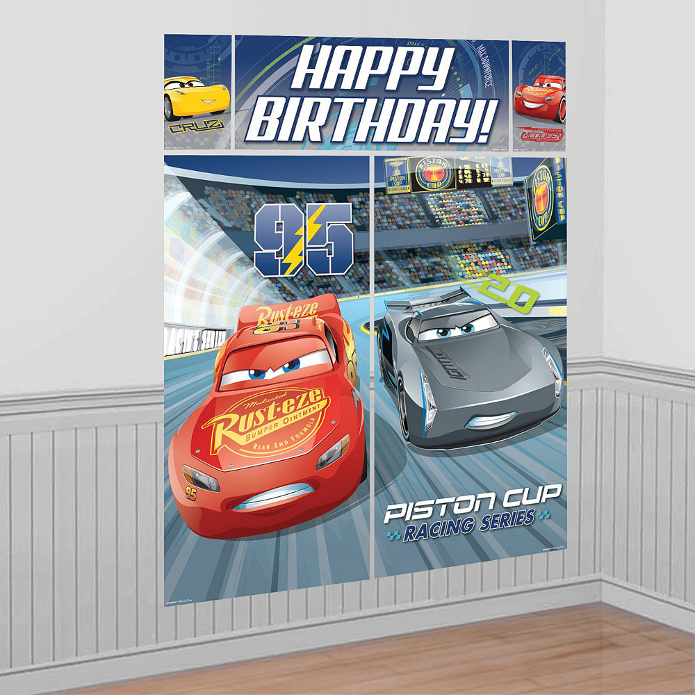 Cars 3 Tableware Ultimate Kit for 16 Guests Image #17