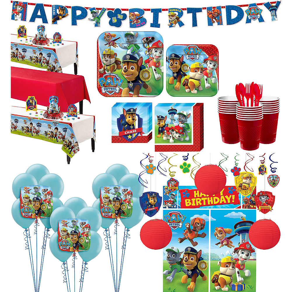 PAW Patrol Tableware Ultimate Kit for 24 Guests Image #1