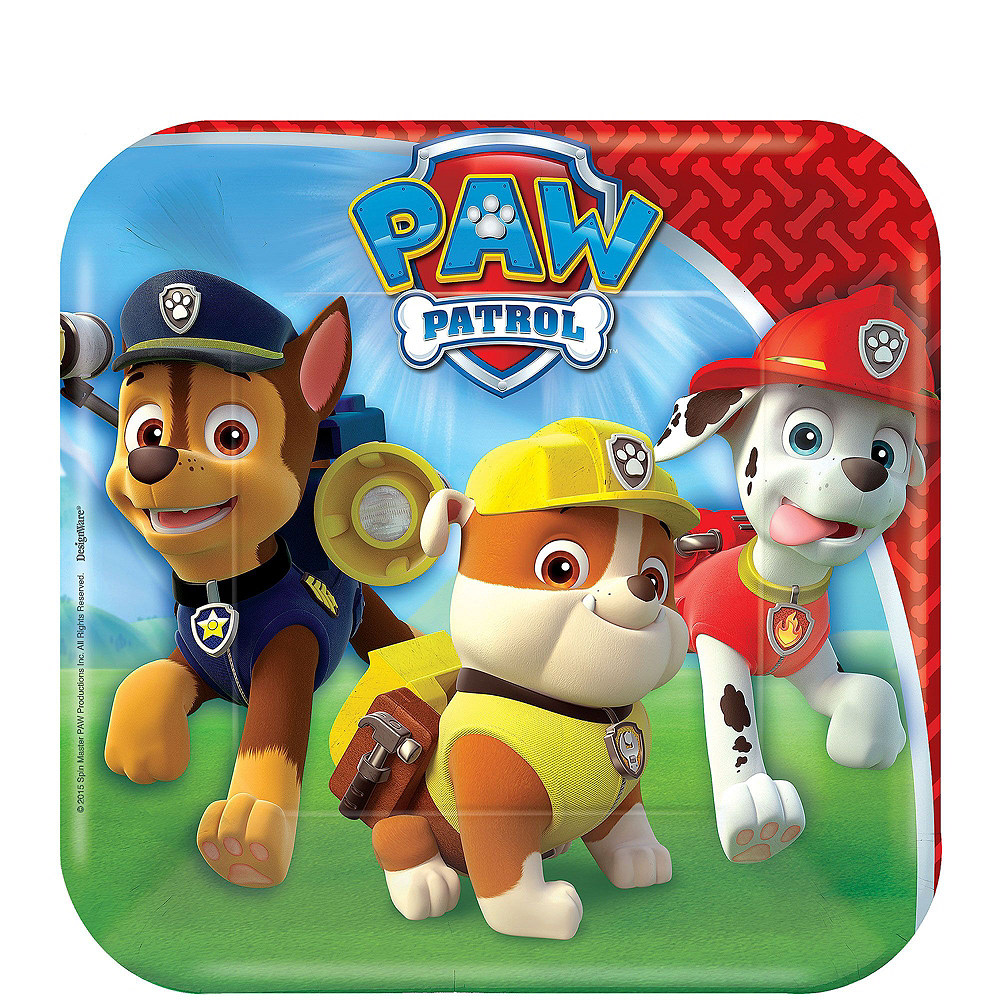 PAW Patrol Tableware Ultimate Kit for 24 Guests Image #13