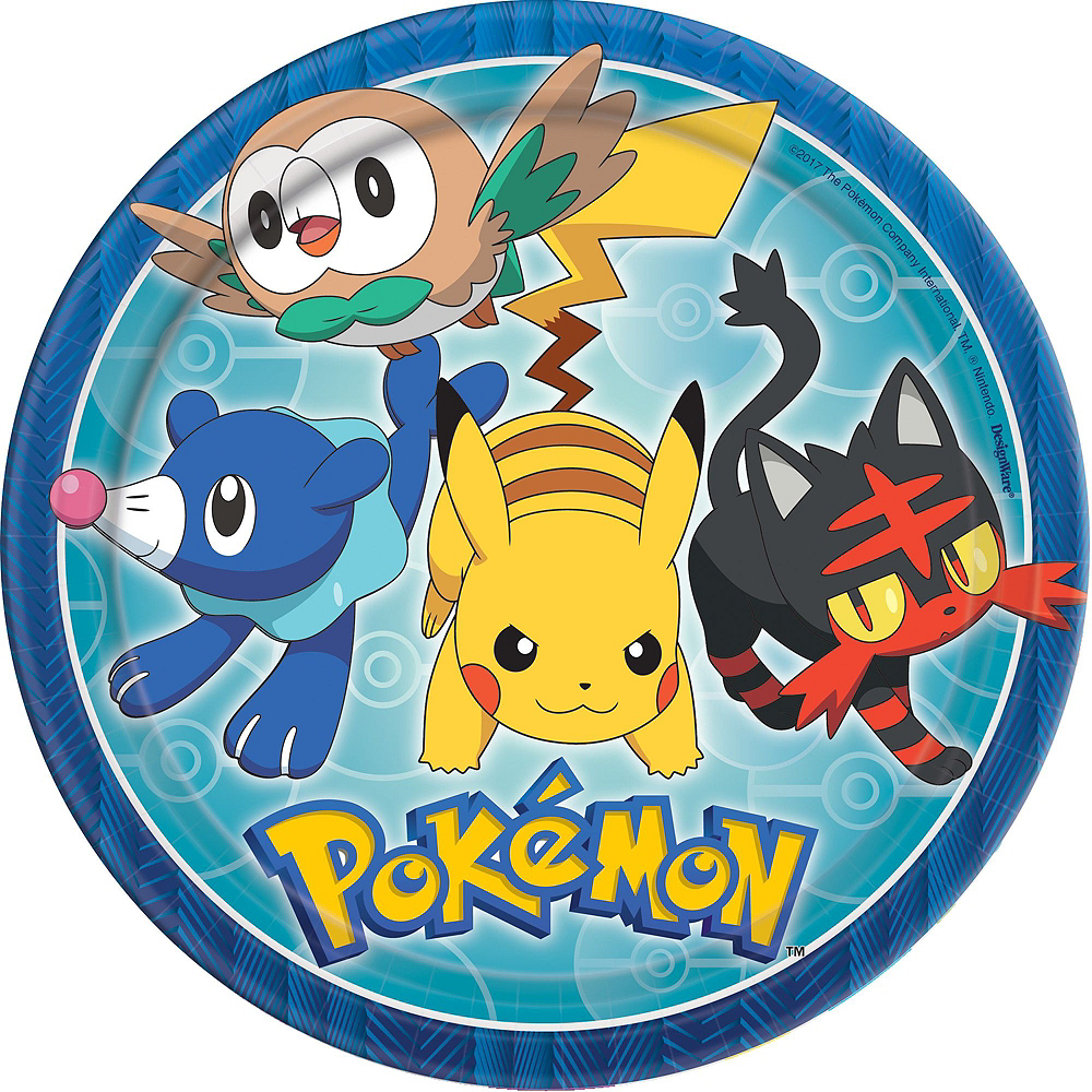 Pokemon Tableware Party Kit for 24 Guests Image #8
